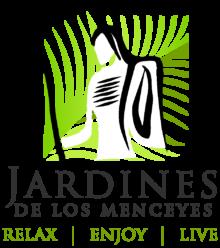 jardines de los menceyes logo slogan